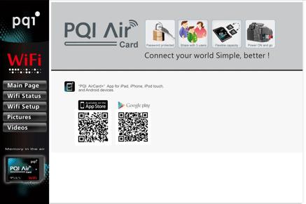 Wi-Fiでメモリカードを接続! PQI Air Cardの初期設定まで