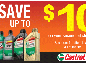 Castrol Oil Change Coupons