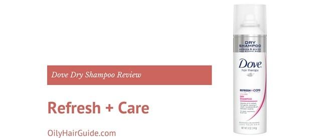 Dove Refresh + Care Invigorating Dry Shampoo Review