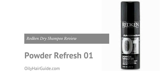 Redken Powder Refresh 01 Dry Shampoo Review