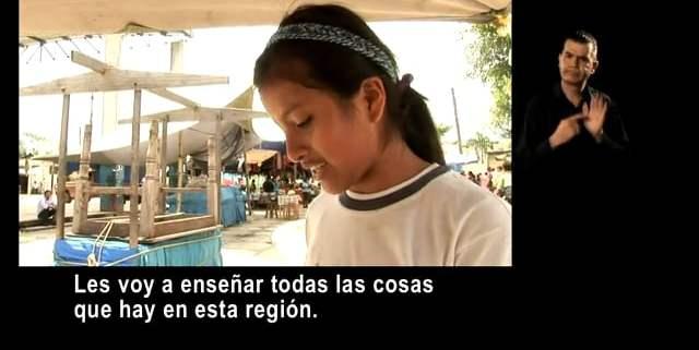 Candelaria Loxicha saluda a todos los niños y niñas