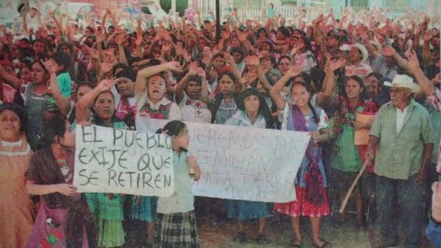 Magdalena Teitipac: Pueblo libre de minería.