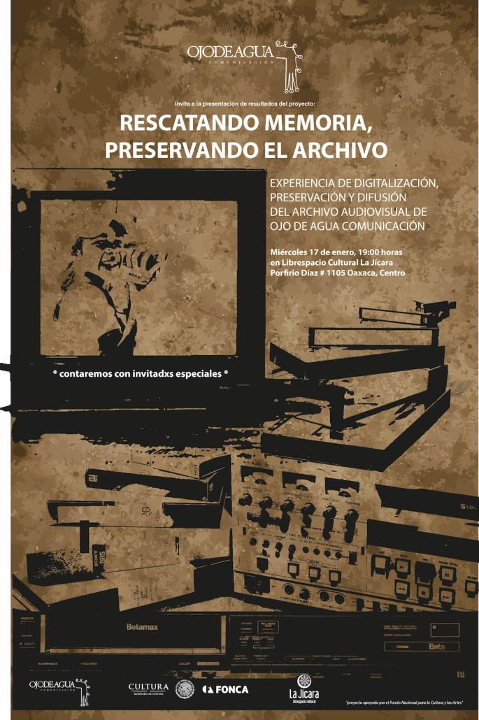 Poster Presentación Archivos