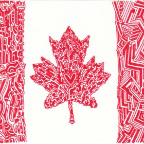 Canadian Heart (2011) SOLD