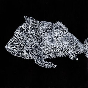 "Post-It ""coelacanth"" SOLD"