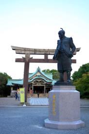 Hideyoshi Toyotomi in Osaka
