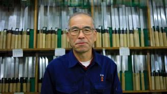 Master Hirano at Hocho Masamoto