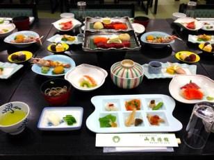 Dinner in Yamanashi