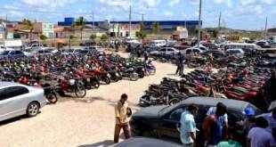 Juazeiro do Norte: 4º leilão de veículos apreendidos pelo DETRAN será esta semana