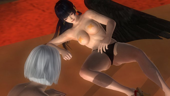 DOAとかいうエロゲーのエロ3DCG画像 07 (19)