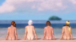 [DOA,3DCG] デッドオアアライブのヌードMODでキャラクターを全裸に剥くエロ動画 Part2 (85)