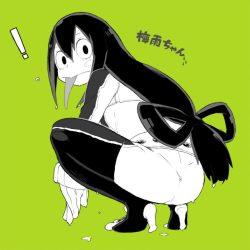 [僕のヒーローアカデミア] 蛙吹梅雨ちゃん ケロケロ可愛いエロ画像 01 (35)