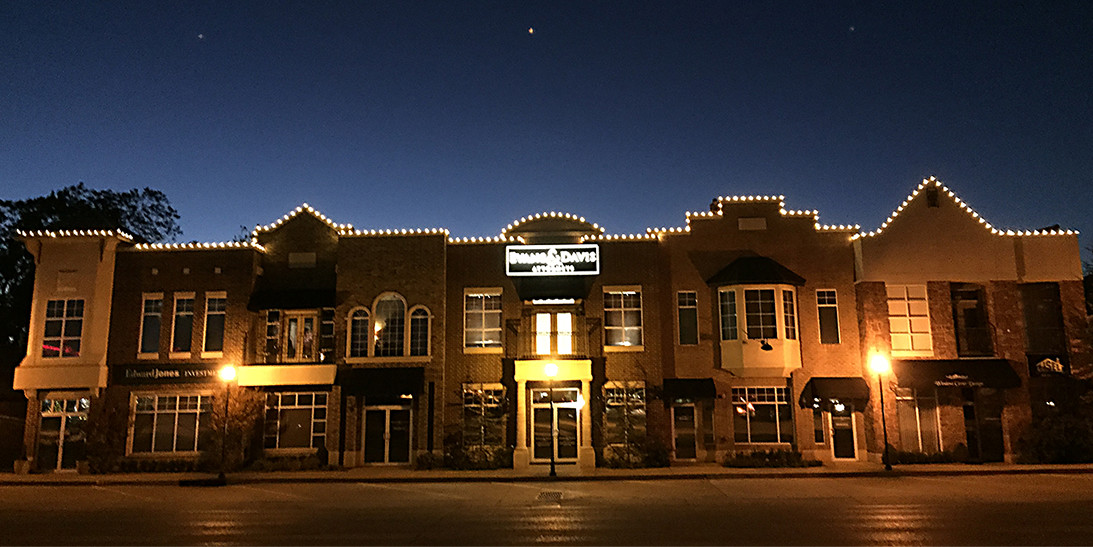 Edmond Downtown Christmas Lights by Forrester