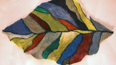 Felted Wool Leaf by E.K. Jeong (Provided)