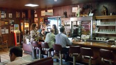 Morning patrons to Cattlemen's Steakhouse recently, 10-28-14.   mh