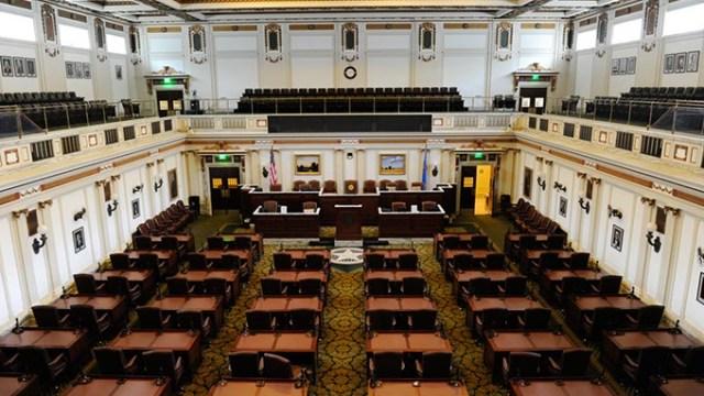 House of Representatives at the Oklahoma State Capitol. (Garett Fisbeck)