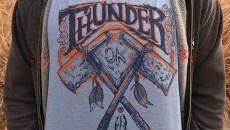 A Cerebellum Thunder tee shirt design.  mh