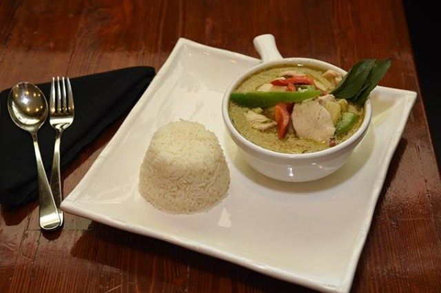 Thai green curry from Panang 2 (Mark Hancock)