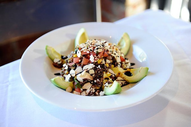 Quinoa avocado salad from Cheever's. (Garett Fisbeck)