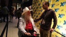 "Leon Russell following the official premier of ""A Poem is a Naked Person"" at SXSW. (Ben Felder)"