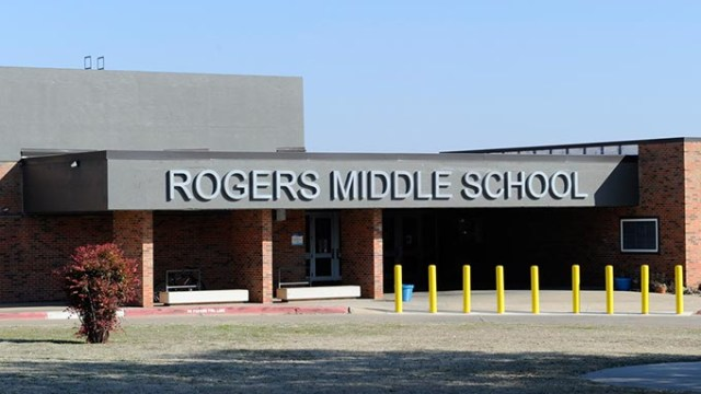 Rogers Middle School in Spencer, Tuesday, Feb. 10, 2015.  (Garett Fisbeck)