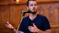 Jonathan Dodson speaks during a Better Classen presentation at City Pres Church in Oklahoma City, Tuesday, June 23, 2015.  (Garett Fisbeck)