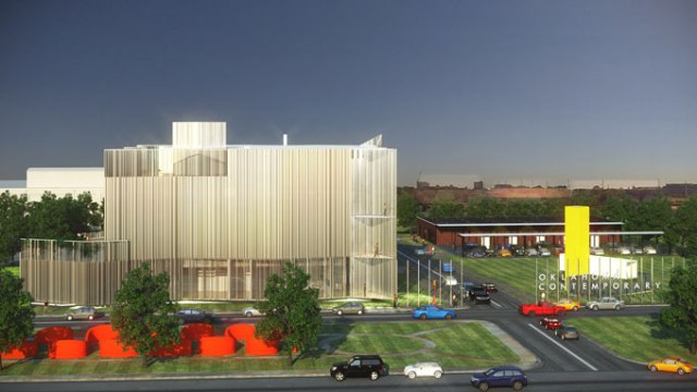 A rendering of Oklahoma Contemporary Arts Center's new building (Provided)