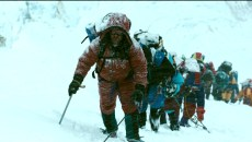 """Rob Hall (JASON CLARKE) leads the expedition in """"Everest"""".  Inspired by the incredible events surrounding an attempt to reach the summit of the world's highest mountain, """"Everest"""" documents the awe-inspiring journey of two different expeditions challenged beyond their limits by one of the fiercest snowstorms ever encountered by mankind."""