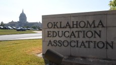 The Oklahoma Education Association is located at 323 E. Madison Street, just northwest of the Oklahoma State Capitol, 10-8-15.  (Mark Hancock