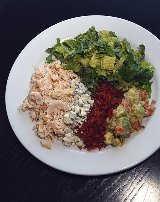 A Deconstructed Cobb Salad at West in Bricktown (Mark Hancock)