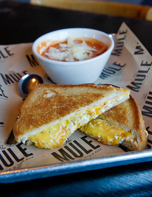 A Big Ass Grilled Cheese at The Mule (Garett Fisbeck)