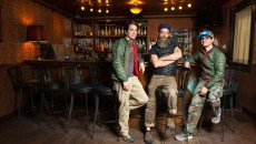 Greg Bustamante, Henri Bailey, and Michael Bustamante, new owners of the 51st St. Speakeasy, Monday, Feb. 22, 2016.  (Garett Fisbeck)