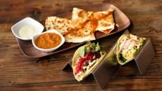Quesadilla and tacos at Cultivar in Oklahoma City, Wednesday, March 30, 2016.  (Garett Fisbeck)