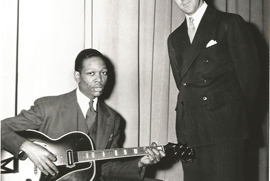 Charlie Christian and Benny Goodman