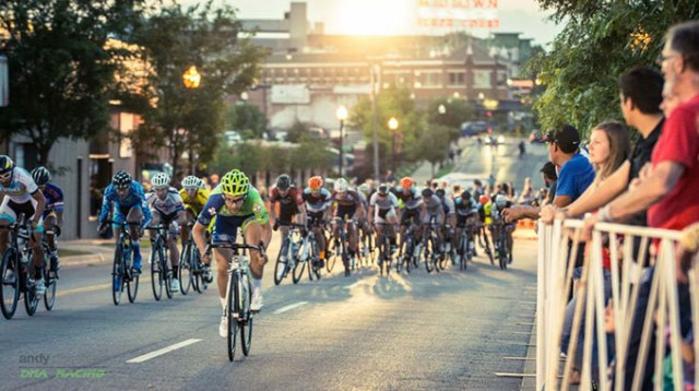 Cyclists compete in last year's Oklahoma City Pro-Am Classic. This year's event runs June 3-5 in Oklahoma City. (Provided)