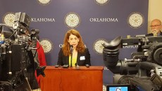 Danielle Ezell - ok policy press conf PROVIDED