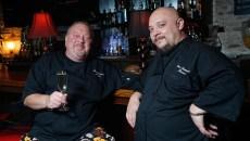 from left Chefs Bruce Rinehart and Jason Bustamante | Photo Garett Fisbeck / file