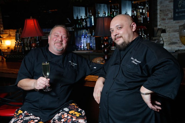 <em>from left</em> Chefs Bruce Rinehart and Jason Bustamante (Gazette / file)