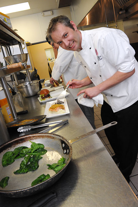 Chef Jonathan Groth recently joined Rococo as chef de cuisine. (Gazette / file)