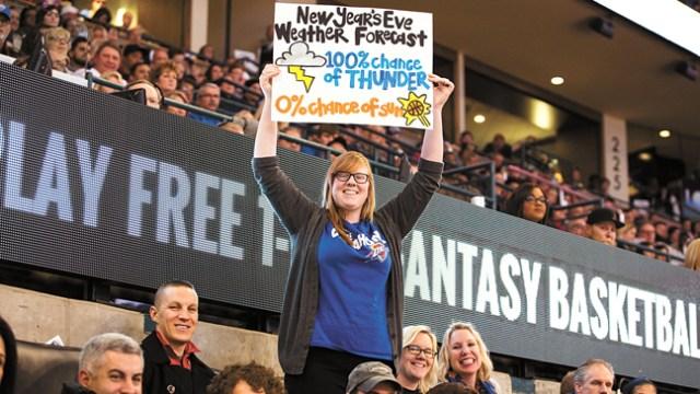 Photo Zach Beeker / Oklahoma City Thunder / provided
