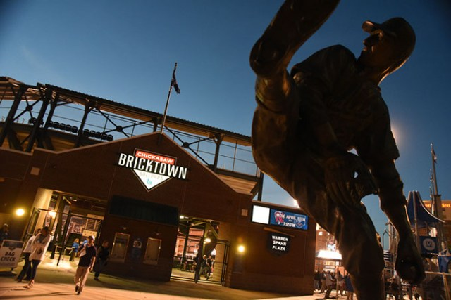 Chickasaw Bricktown Ballpark improvements are one of 850 projects listed for consideration. (Gazette / file)