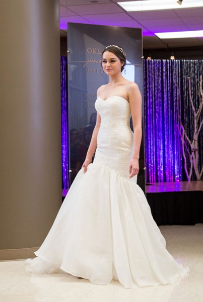 The Oklahoma Bridal Show features a fashion show. (Sherri Glenn Photography / provided)