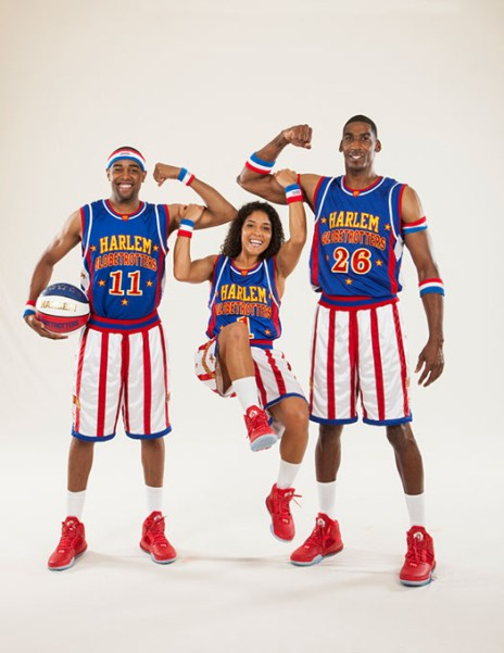 Cheese Chisholm, Ace Jackson and Hi-Lite Bruton (The Original Harlem Globetrotters / provided)