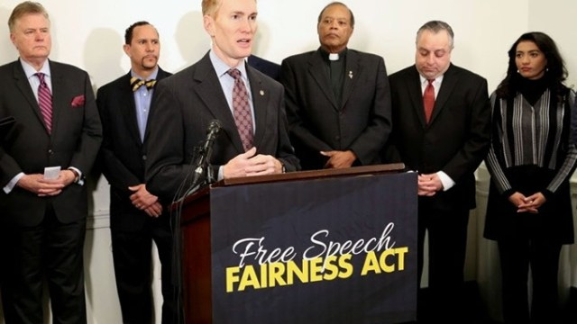 Sen. Lankford, Free Speech Fairness Act
