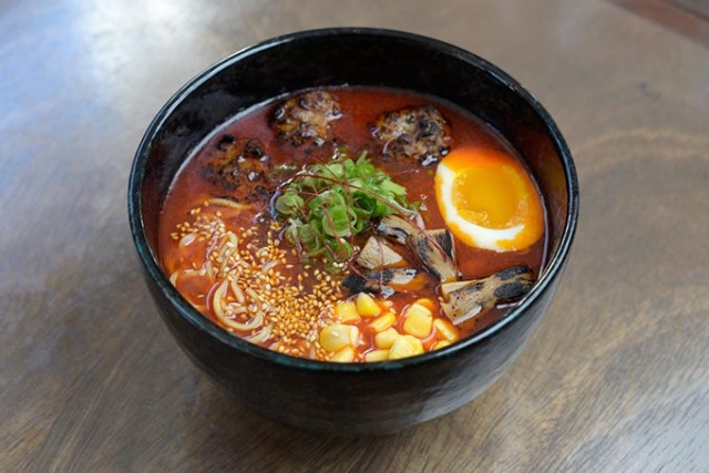 Spicy miso ramen at Gorō Ramen + Izakaya (Garett Fisbeck)
