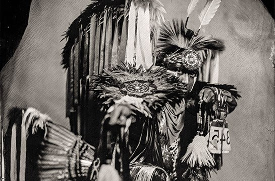 Cheyenne Lee Pocowatchit, Citizen of Comanche Nation and Affiliated Cheyenne, Nationally Recognized Fancy Dancer (Will Wilson / provided)