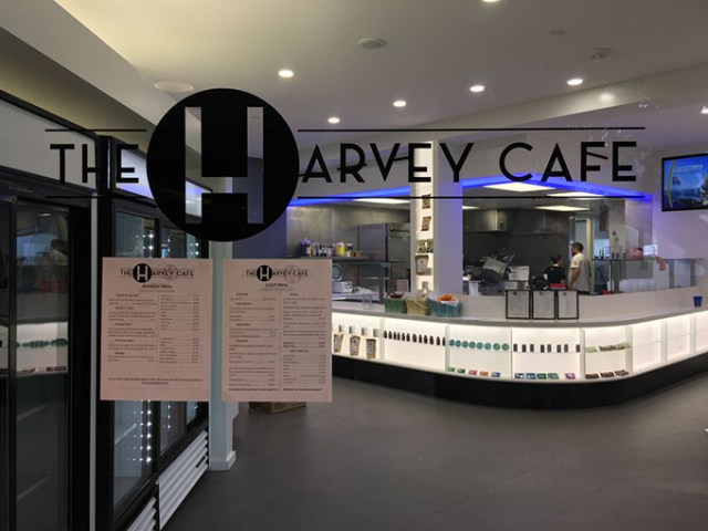 The Harvey Cafe recently opened inside the White Star Petroleum Building, 301 NW 63rd St. (Aly Branstetter / provided)
