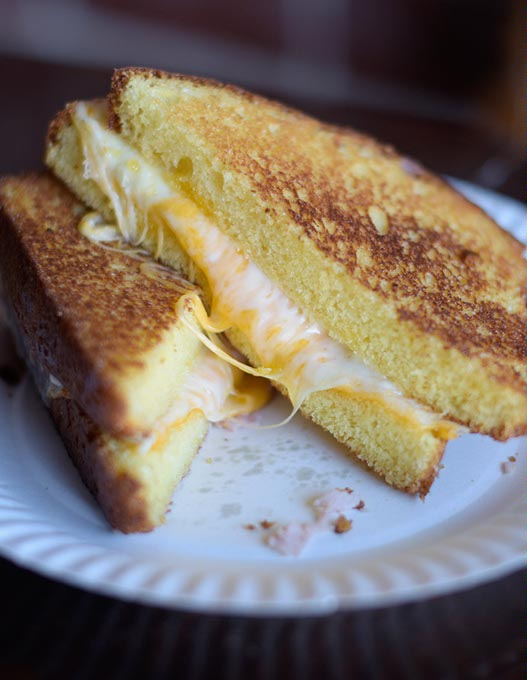 Grilled cheese at Belle Kitchen (Garett Fisbeck)