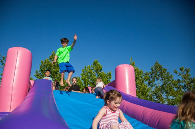 Free inflatables and lawn games will keep children entertained at On the Lawn June 1. (Audrey Dodgen / provided)