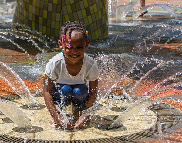 Children's Garden and Thunder Fountain at Myriad Botanical Gardens (Carl Shortt Jr. / Provided)